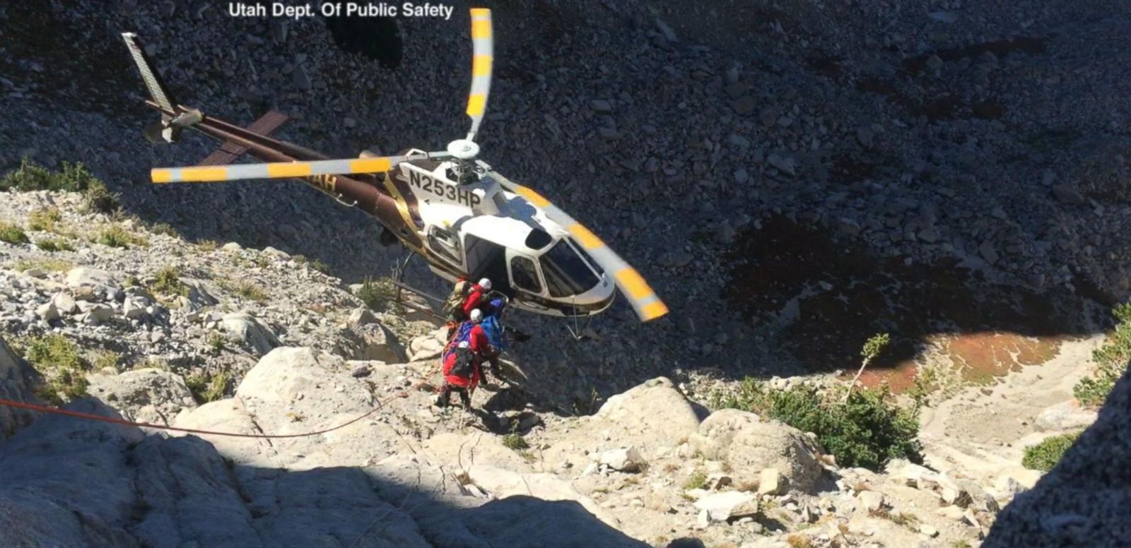 VIDEO: Rescue Chopper Nearly Crashes When Rope Gets Caught in Blade