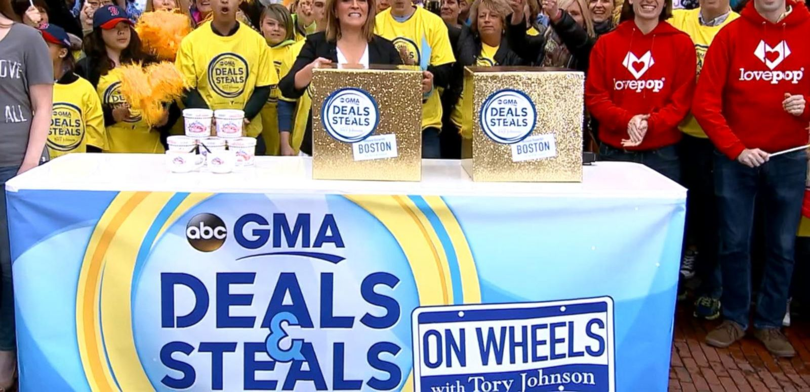 VIDEO: Deals and Steals on Wheels Hits Boston