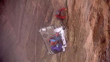 VIDEO: Repel 1,900 Feet Down Black Canyon With GMAs TJ Holmes