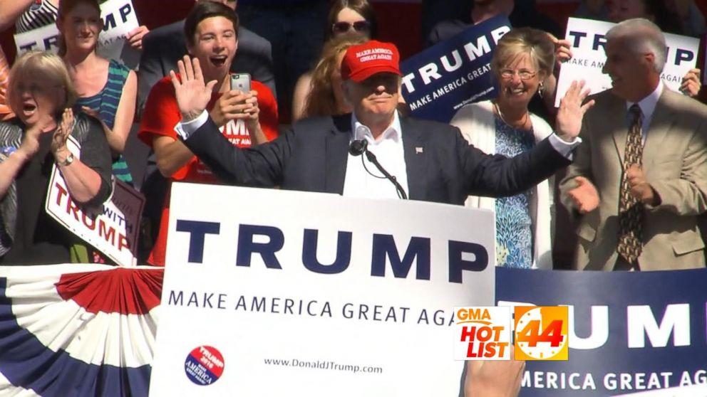 'GMA' Hot List: Donald Trump, Meghan Trainor, Russell Crowe Video - ABC News