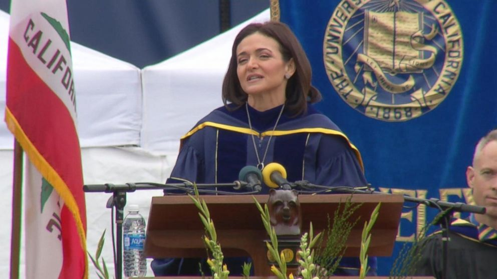 Facebook Executive Sheryl Sandberg Speaks About Husband's Death Video - ABC News