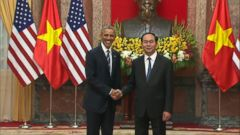 VIDEO: GMA 05/23/16: President Obama Announces End of Arms Embargo With Vietnam