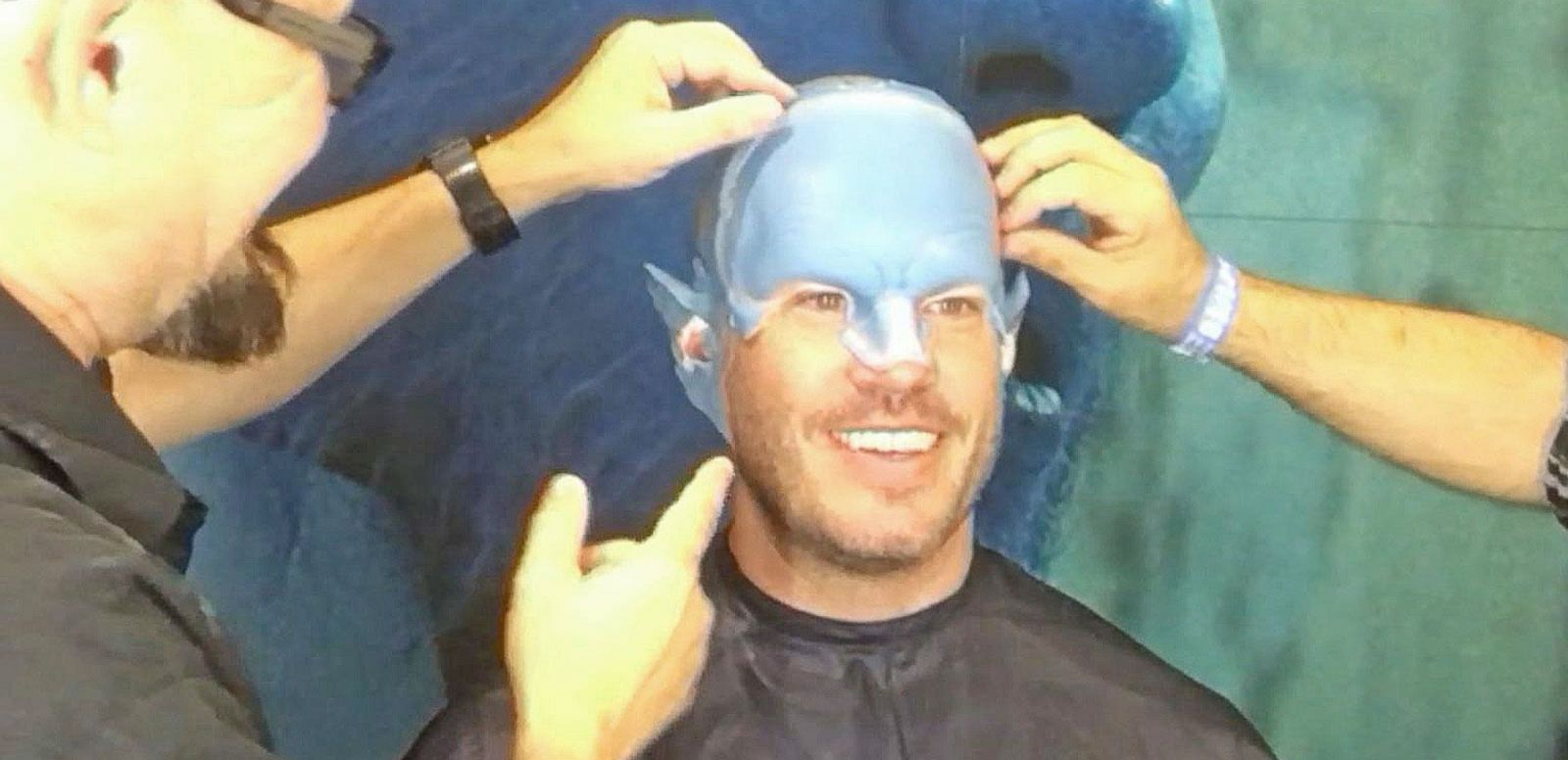 VIDEO: Jesse Palmer Is Transformed Into Beast from 'X-Men: Apocalypse'
