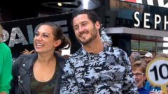 VIDEO: Ginger Zee Returns from Dancing with the Stars
