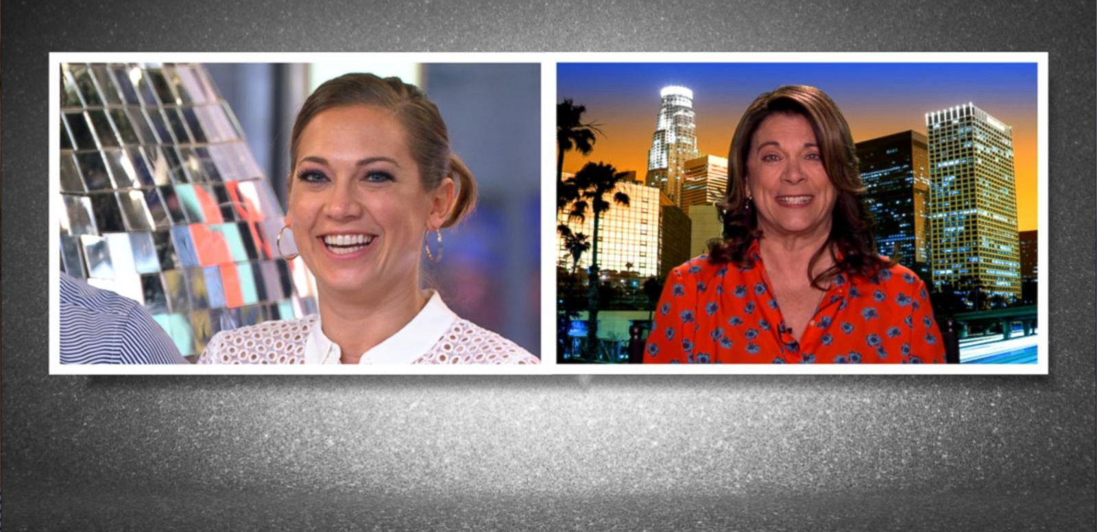 VIDEO: Ginger Zee's Mom Surprises Her Live on 'DWTS' After Party