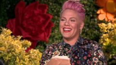 VIDEO: Pink Opens Up About Motherhood and Her New Song