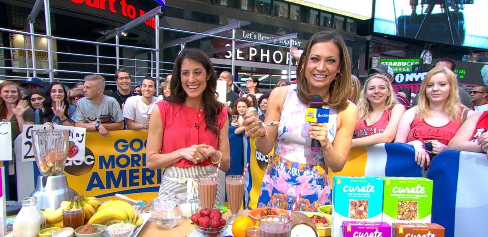 VIDEO: Katie Cavuto Makes Healthy Snacks