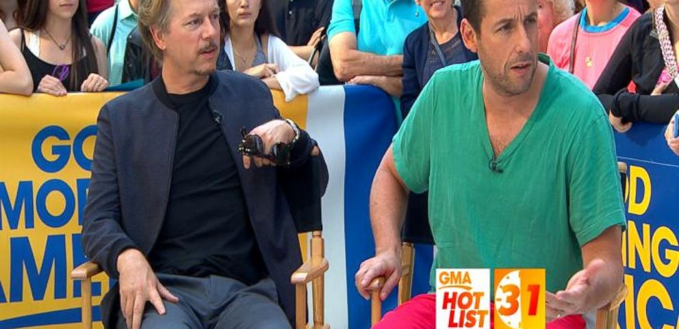 VIDEO: 'GMA' Hot List: Adam Sandler, David Spade Get Their 'Do-Over'