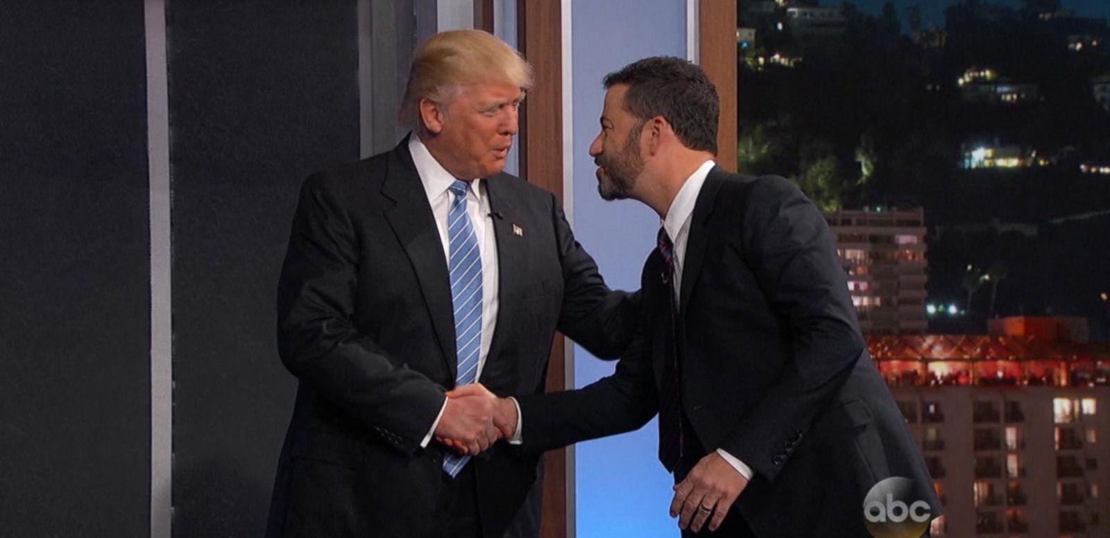 VIDEO: Donald Trump Visits 'Jimmy Kimmel Live!'