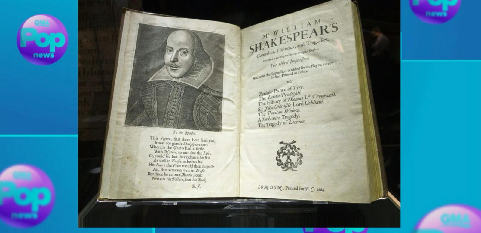 VIDEO: Shakespeare's Original Plays Auction to Celebrate 400th Anniversary