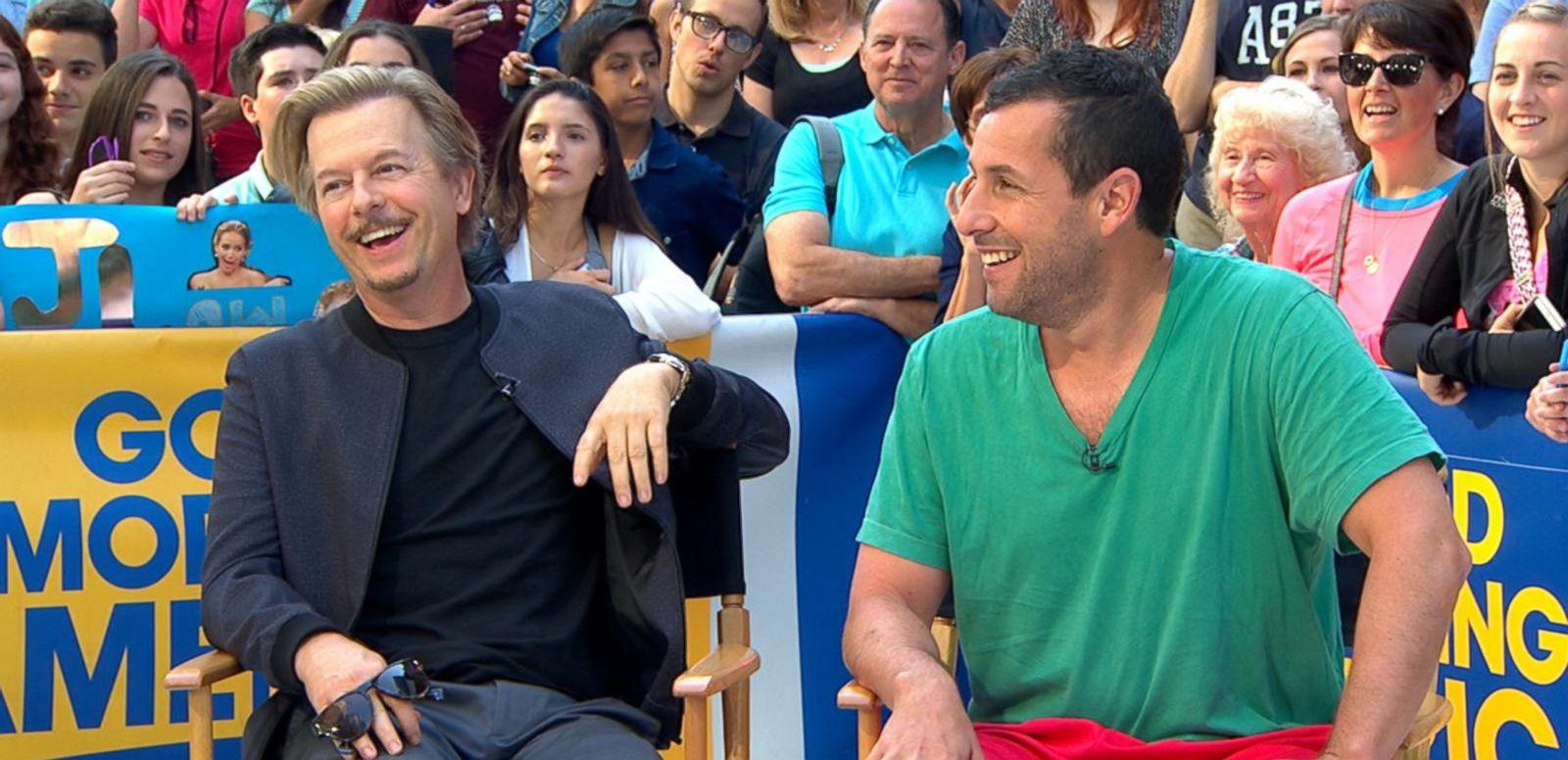 VIDEO: Adam Sandler, David Spade Star in New Netflix Comedy