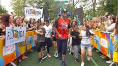 VIDEO: GMA Summer Concert Series: Flo Rida Performs Hello Friday