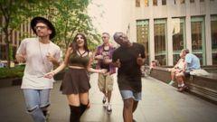 VIDEO: Flo Ridas Epic Running Man Challenge