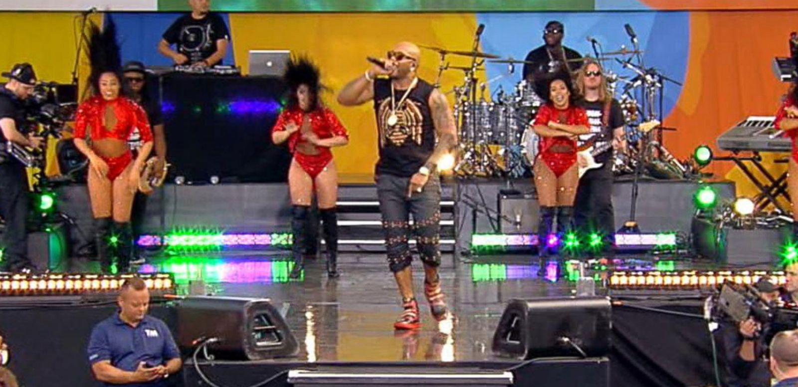 VIDEO: 'GMA' Summer Concert Series: Flo Rida Performs 'My House'