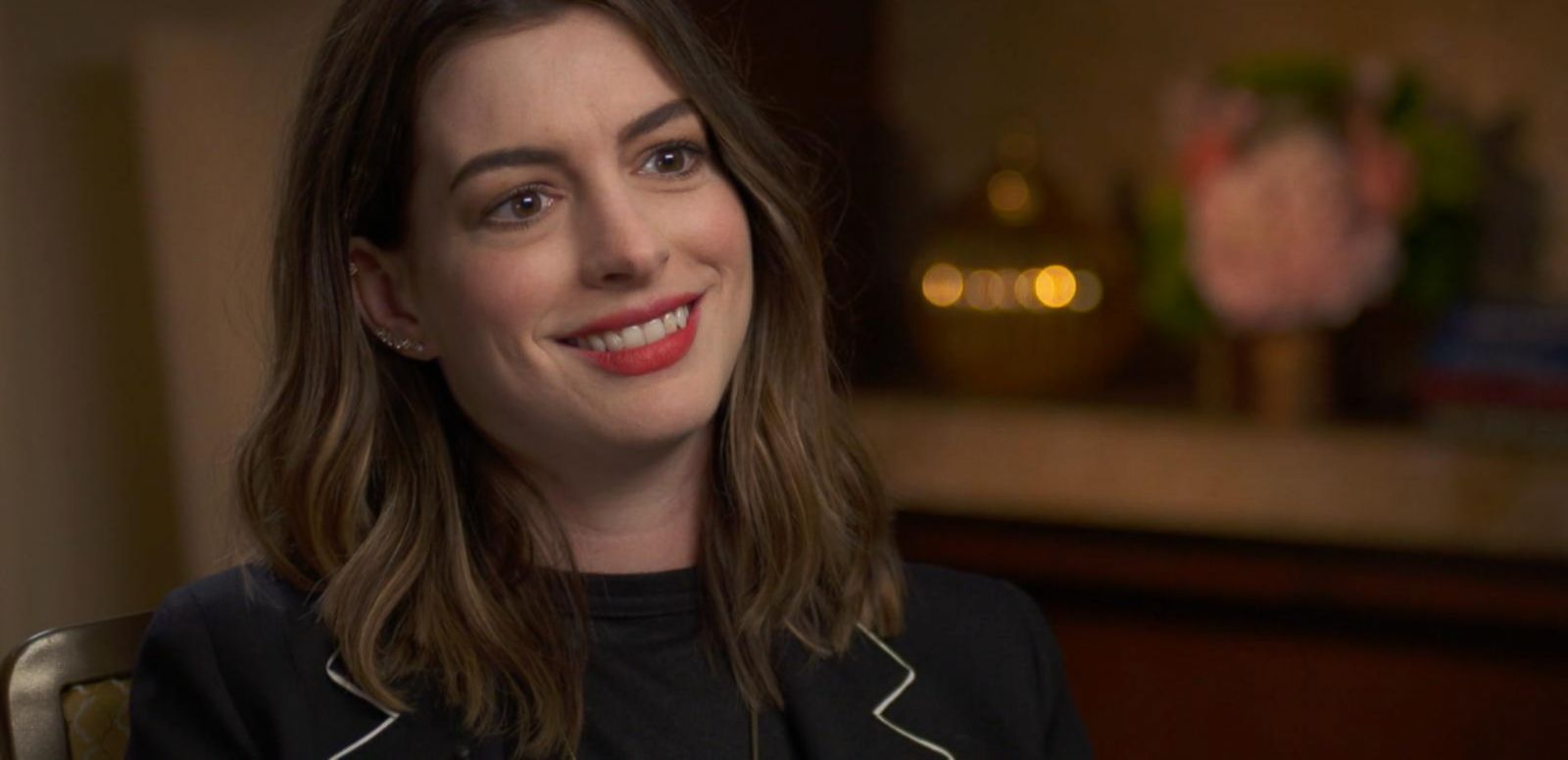 VIDEO: Anne Hathaway Talks Motherhood, New Movie