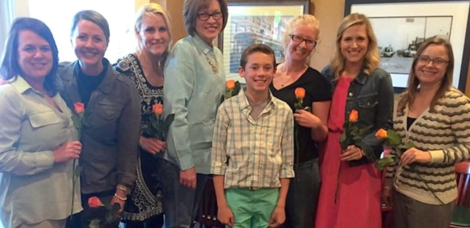 Cody Dortch hosted a dinner party for almost every teacher he's had since kindergarten.