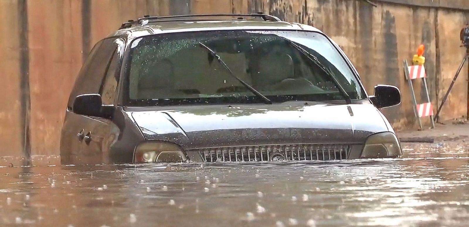 VIDEO: Record Rains Hit Hard in Texas Causing Flash Flooding