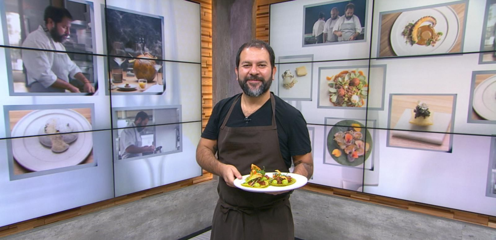 VIDEO: Mexican Chef Enrique Olvera, Live on 'GMA'