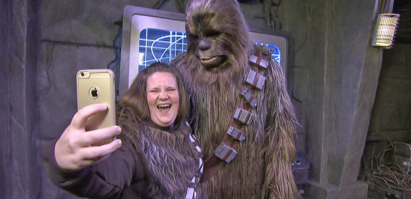 VIDEO: Inside 'Chewbacca Mom''s Visit to Disney World