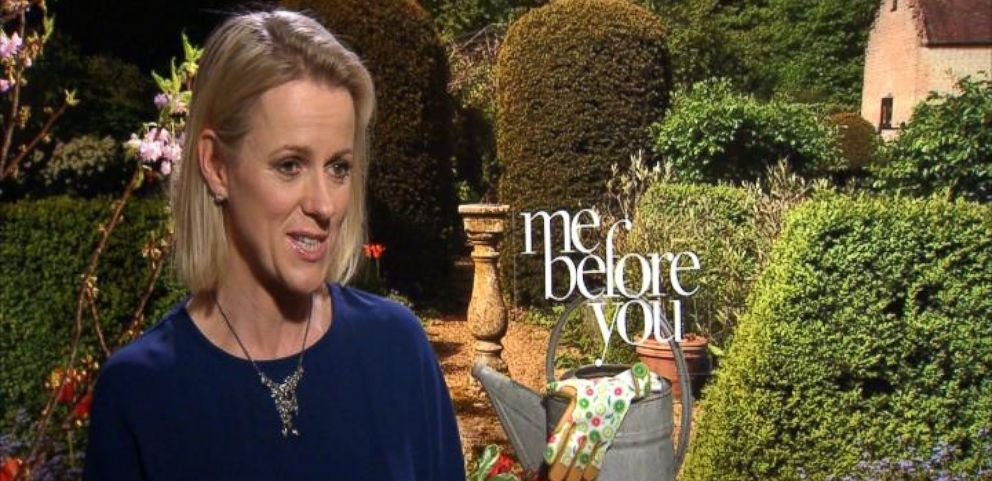VIDEO: Author Jojo Moyes on Bringing 'Me Before You' to the Big Screen