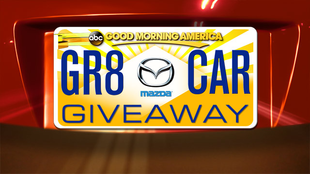 GMA Great Car Mazda Giveaway