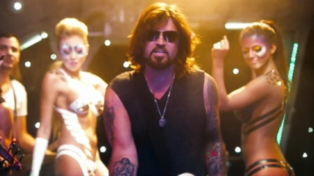 VIDEO: Billy Ray Cyrus dons sunglasses in music video for this hip-hop take of the 1992 hit.