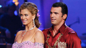 Former supermodel Kathy Ireland was the third contestant to be booted from this season of Dancing with the Stars.