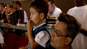 Orlando Magic Helps Mute Boy Find His Voice