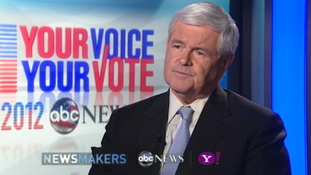 VOD: Newt Gingrich Interview