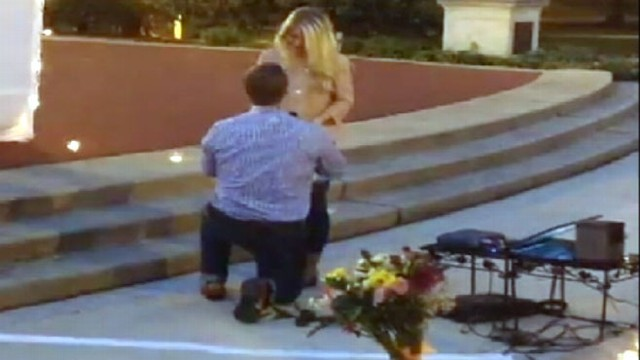 VIDEO: Marriage Proposal: Ohio State Grad Sends Girlfriend on Scavenger Hunt