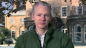 PHOTO Freed from a London prison, WikiLeaks founder Julian Assange now says he was set up in the Swedish sexual assault case