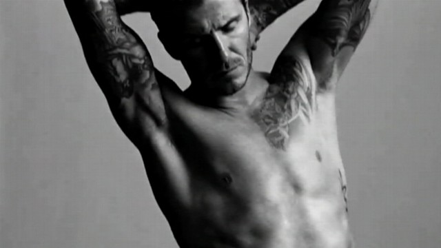 VIDEO: Clothing store H and M features David Beckham Bodyware in new commercial.