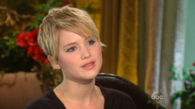 VIDEO: Jennifer Lawrence tells Barbara Walters that criticisms about weight are perpetuated by the media.