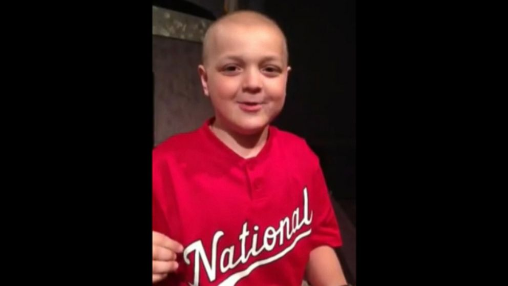 VIDEO: Jake Daniel, 7, posted a message on YouTube for David Quessenberry, who was recently diagnosed with cancer.