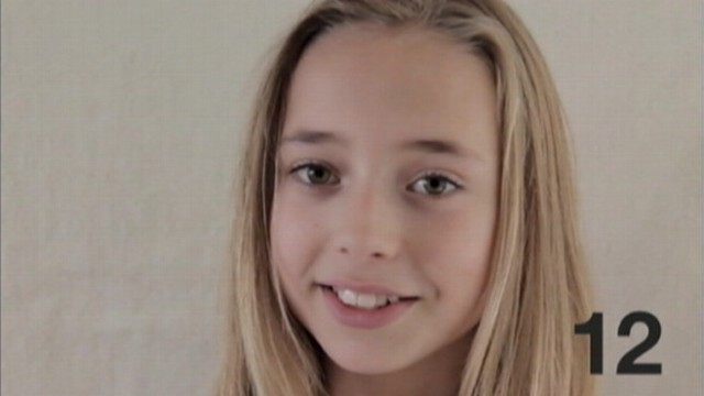 VIDEO: Frans Hofmeester films his daughter every week from birth until age 12.