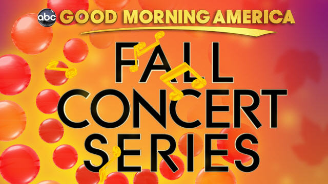 "PHOTO: ""Good Morning America"" Fall Concert Series 2011 logo."