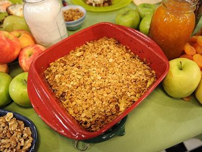 Three-Ingredient Apple Crisp