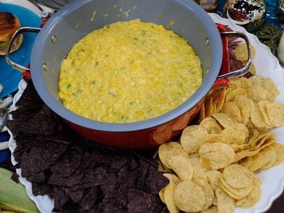 Creamy Corn Jalapeno Fondue