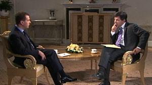 Medvedev Exclusive: New START Treaty vs. Missile Defense