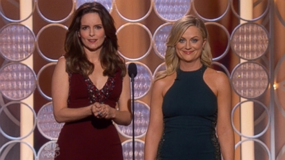 VIDEO: Tina Fey and Amy Poehler delivered plenty of laughs for a second year in a row.