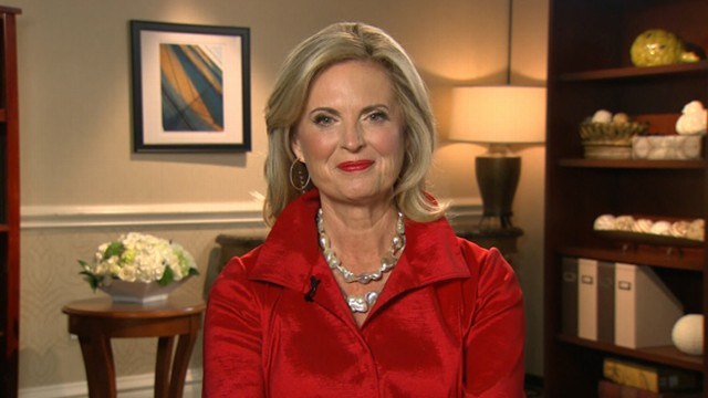 VIDEO: The Republican candidates wife discusses her husbands big night at the RNC.
