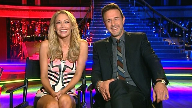 """VIDEO: Arquette, partner Kym Johnson discuss experience on """"Dancing With the Stars."""""""
