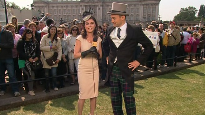 VIDEO: Nick Watt and Bianna Golodryga on appropriate outfits for the royal wedding.