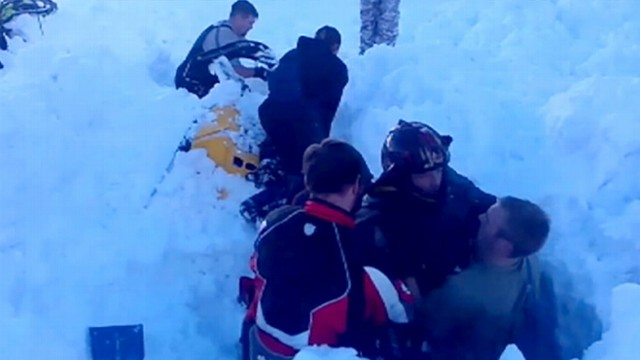 Utah Avalanche: Mans Friends to the Rescue