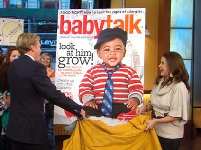 VIDEO: Babytalk magazines 10th annual search found cutie Rowan Spracklen.