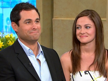 """The Bachelor"" stars Jason Mesnick and Molly Malaney appeared on ""GMA"" and said their relationship is still going strong."