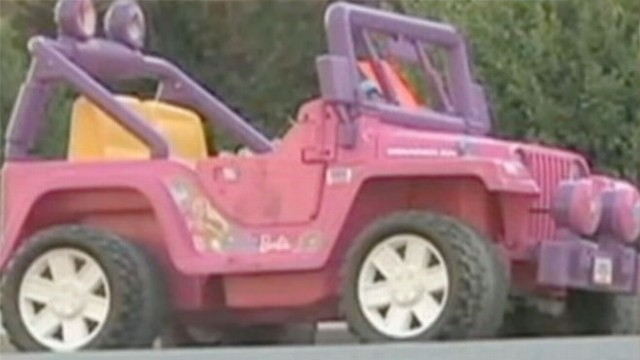 GMA VIDEO: Barbie Jeep Ticketed by Police