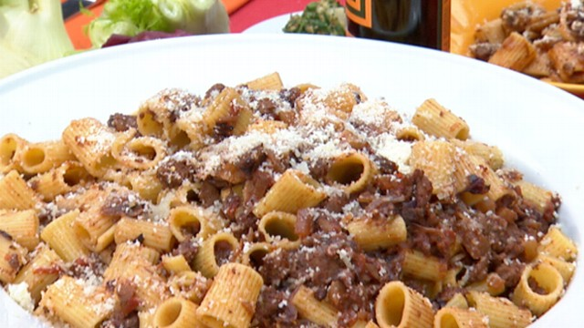 "VIDEO: Star of ABC's ""The Chew"" prepares a dish that provides an Italian spin to Thanksgiving."