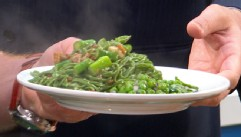 "VIDEO: Co-host of ""The Chew"" prepares recipes with fresh ingredients just coming into season."