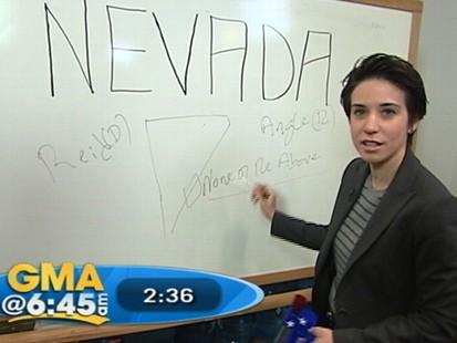 VIDEO: Reid or Angle in Nevadas senate race?